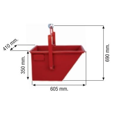 Cubilote para elevadores Camac Minor de 60 Litros - Referencia 5000033