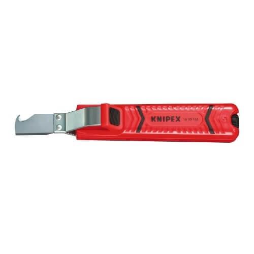 Cuchillo para cables pelamangueras Knipex de 165mm