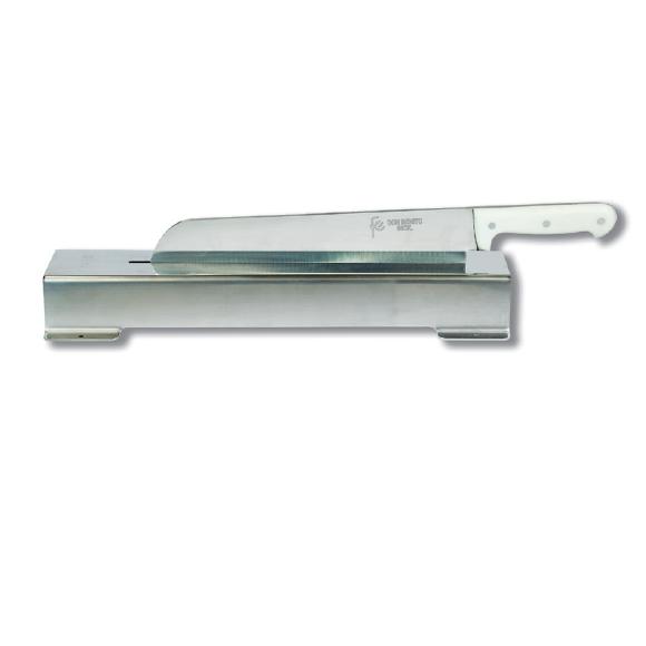 Cuchillo-soporte corta bacalao Flores Cortés D.Benito