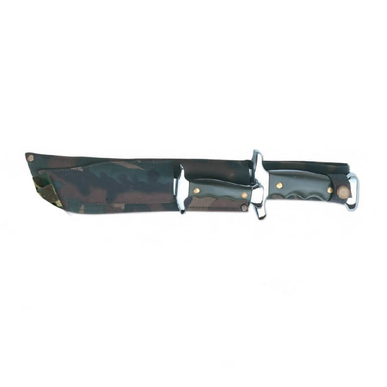 Cuchillos canguro INOX mango abs Flores Cortés de 210+135mm