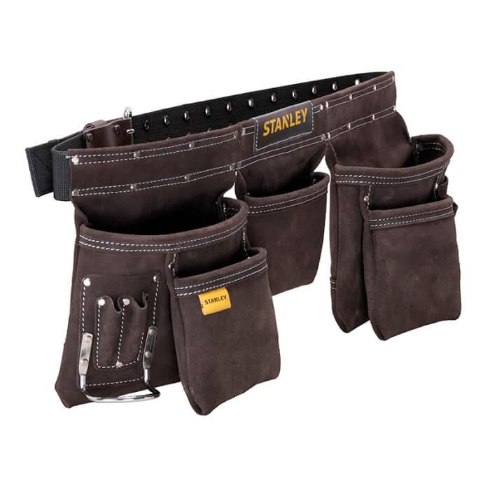 Delantal porta-herramientas en piel de búfalo Stanley