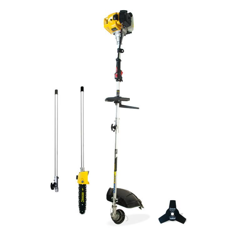 Garland BEST 510 DPG 3 en 1 - Desbrozadora + Podador de altura a gasolina 2T de 32,6cc - Referencia 41-0136