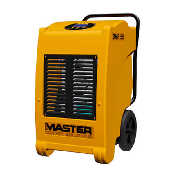 Master DHP 55 con bomba de agua - Deshumidificador profesional de 45l/24h