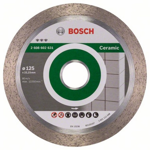 Disco diamante Bosch Professional Plus Ø125mm- Best for ceramic