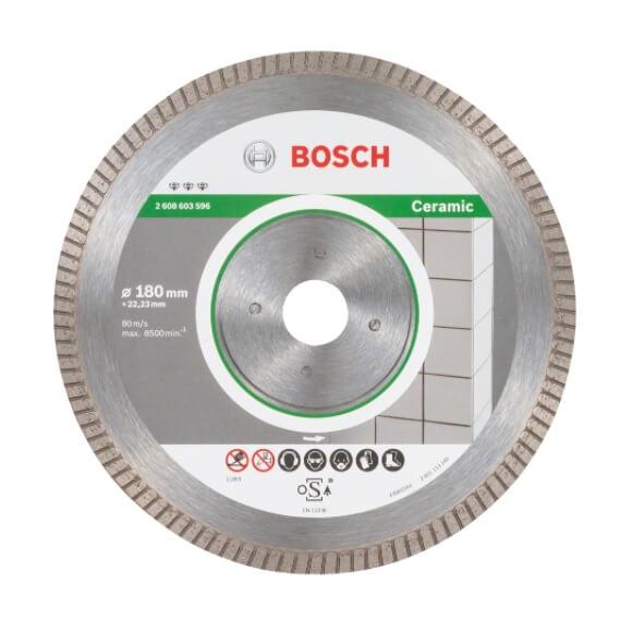 Disco de diamante Best for Ceramic Extraclean Turbo Bosch de 115mm - Referencia 2608602478