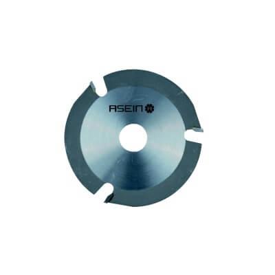 Disco de corte de madera para amoladora de 3 dientes - 115mm