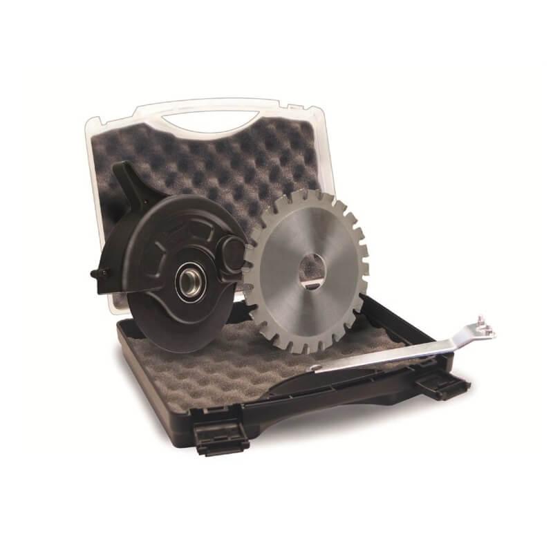 Disco de corte de madera para amoladora SAFESAW STEEL de 230mm con protector
