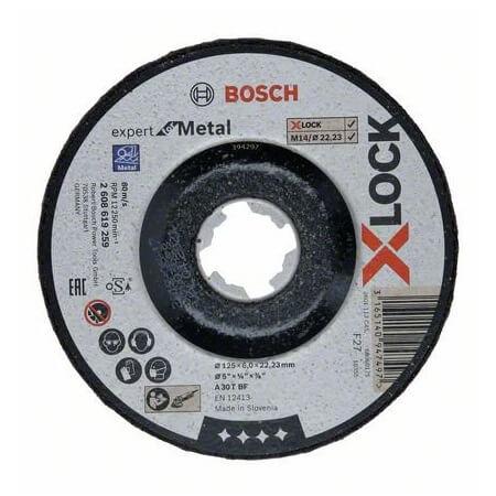 Disco de desbaste expert para metal Bosch X-LOCK - 125mm