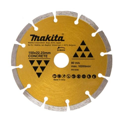 Disco de diamante Makita Diamak segmentado Ø150mm - Referencia B-06432