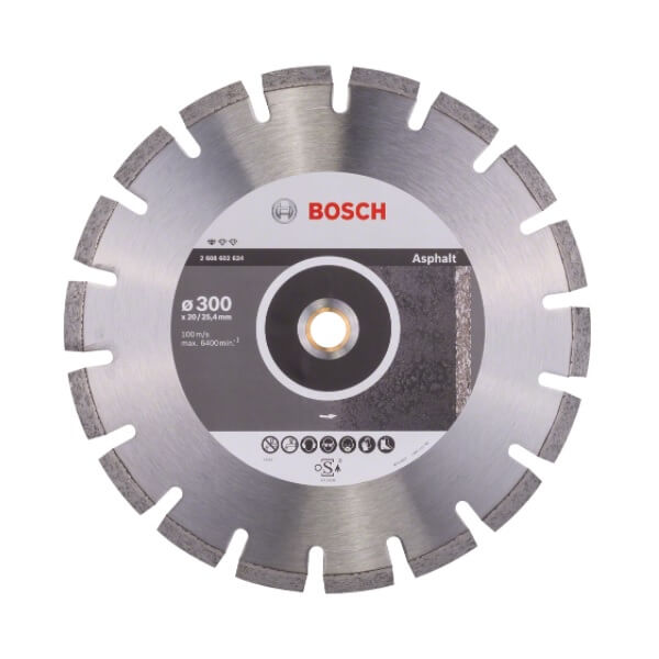 Disco de diamante Standard for Asphalt Bosch de 350mm - Referencia 2608602625