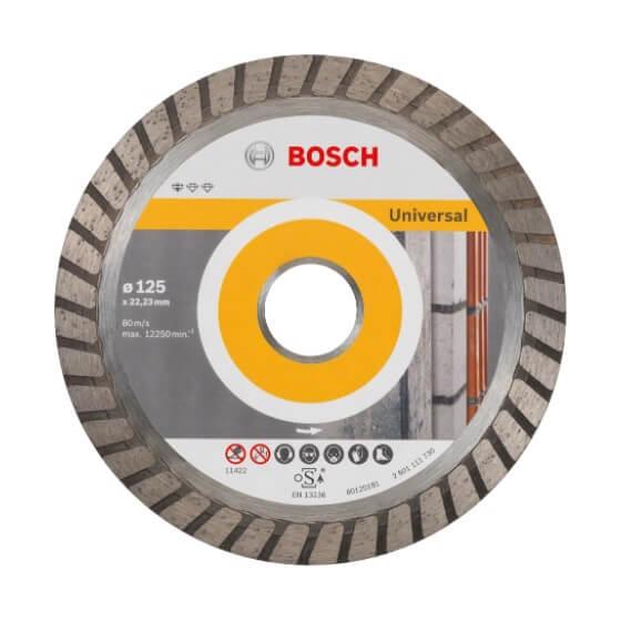 Disco de diamante Standard for Universal Turbo Bosch para amoladoras de 115mm - Referencia 2608602393