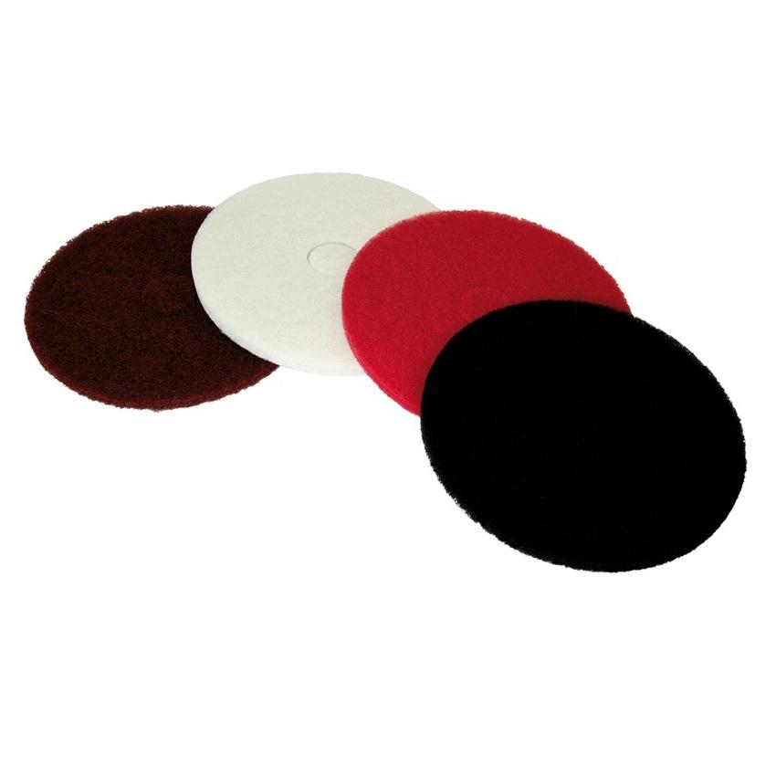 Disco pad muy abrasivo para rotativas - Negro 50cm