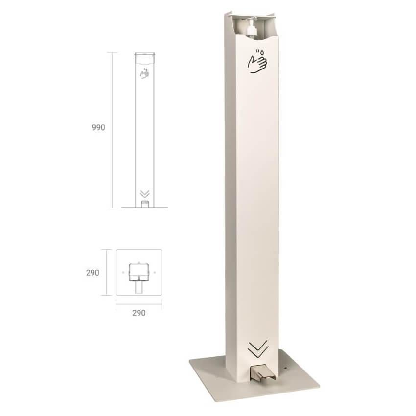 Dispensador de gel hidroalcohólico Olle Serie COV