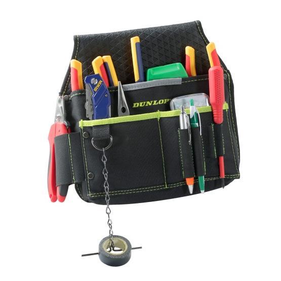 Bolsa portaherramientas Dunlop múltiples bolsillos