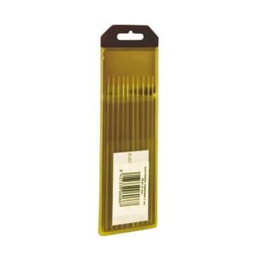 Electrodos tungsteno 1,5% Lantano Oro Solter de 1,0mm (10 unidades)