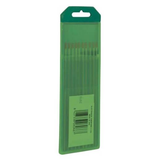 Electrodos tungsteno Puro Verde Solter de 2,0mm (10 unidades)