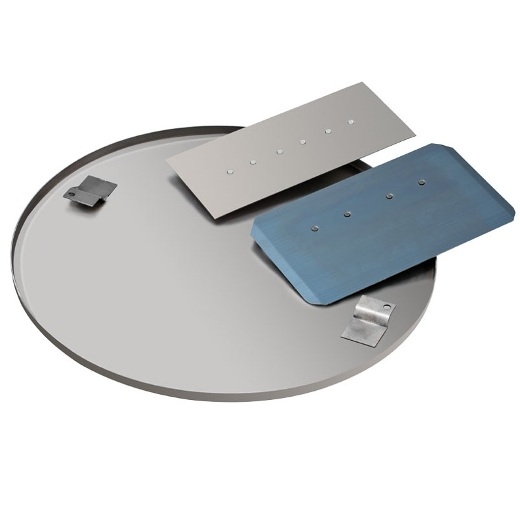 Disco enlucido Enar de 60cm para fratasadora Tifon 600