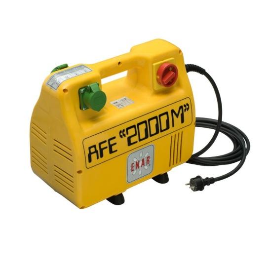Convertidor vibrador alta frecuencia tipo maleta Enar AFE 2000 P 400V 3~50 HZ