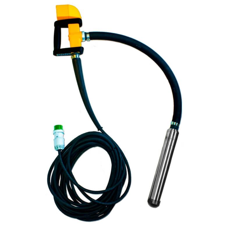 Aguja vibrante alta frecuencia con motor interno Enar PISTOLA MP 38 AFP de Ø38mm