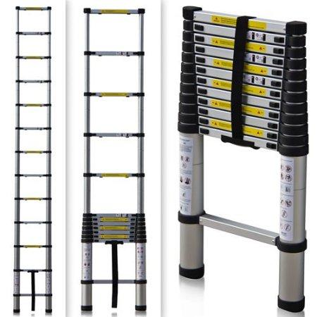 Escalera telescopica xtend 320 de aluminio comprar en c for Escalera aluminio telescopica extensible