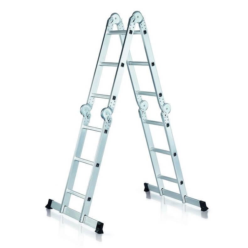 Escaleras profesionales trabajo en alturas comer turr for Escalera de aluminio extensible 9 metros