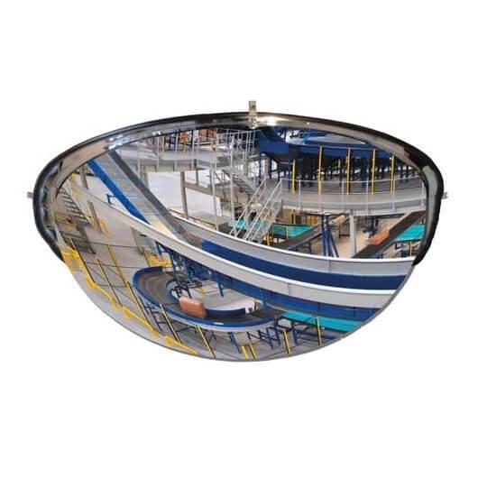 Espejo hemisférico de vigilancia MetalWorks MS360 360º de 650mm