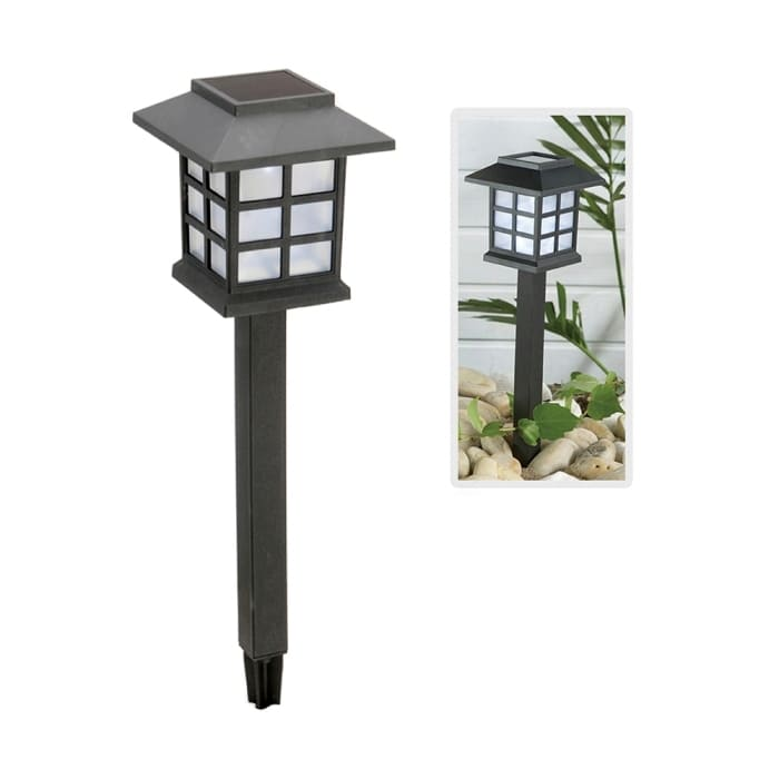 Estacas solares para el jardín mod. Japon (Pack 4 unidades)