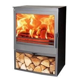 Estufa de leña clásica Panadero Saphir Ecodesign 7,1kW 220m3