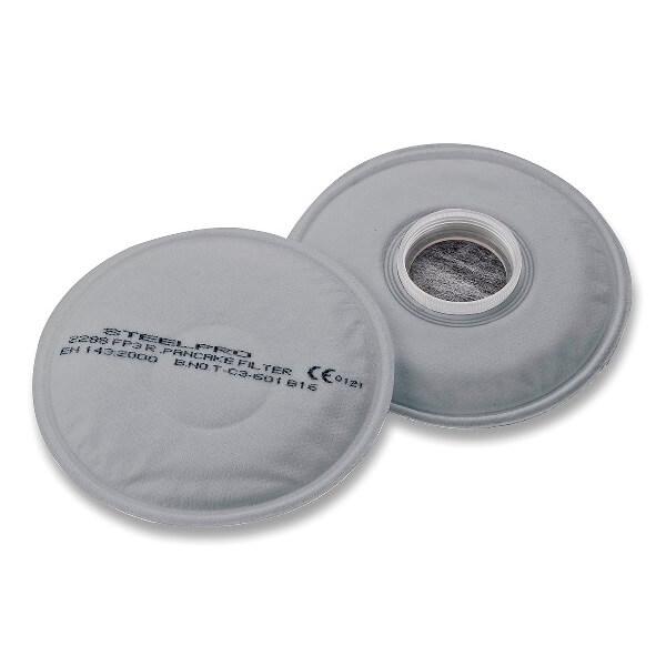 Filtro de rosca para media máscara 'Breath' P3 Carbón Activo (Caja 2 unidades)