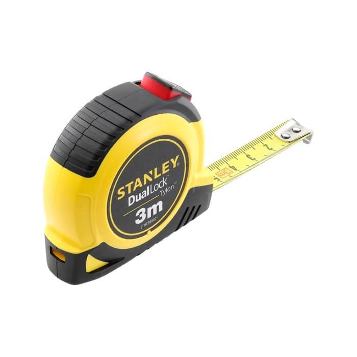Flexómetro Tylon Dual Lock Stanley de 3m x 13mm