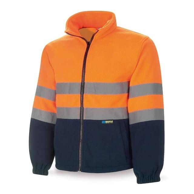 Forro polar de alta visibilidad naranja/azul marino 288-FPFN/A MIX - Referencia 288-FPFN/A MIX