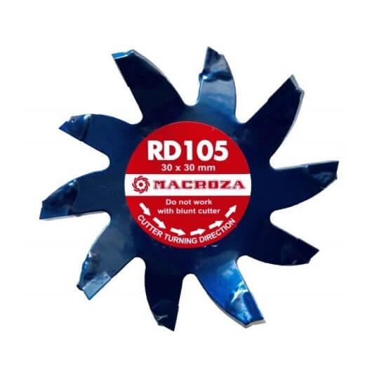 Fresa Macroza RD105 Premium de 30x30mm - Referencia RD105