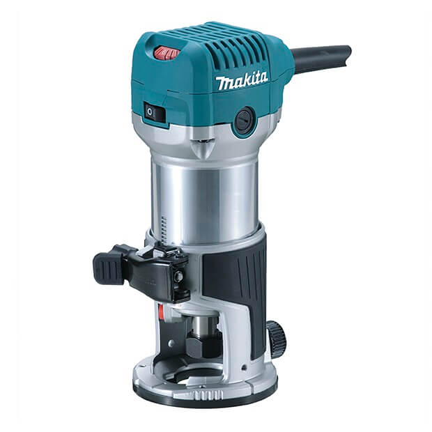 Fresadora Makita RT0700C de 6 y 8 mm