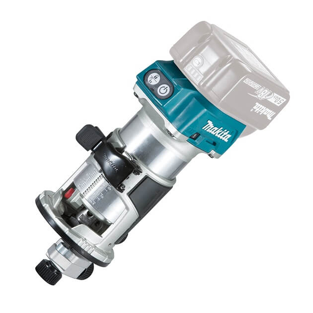 Fresadora multifunción Makita DRT50ZJX2 18V LXT BL