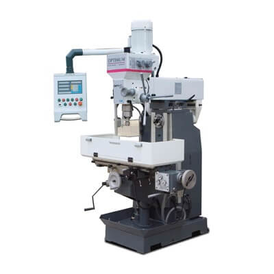 Fresadora-taladradora Optimum MT 50 - Trifásica