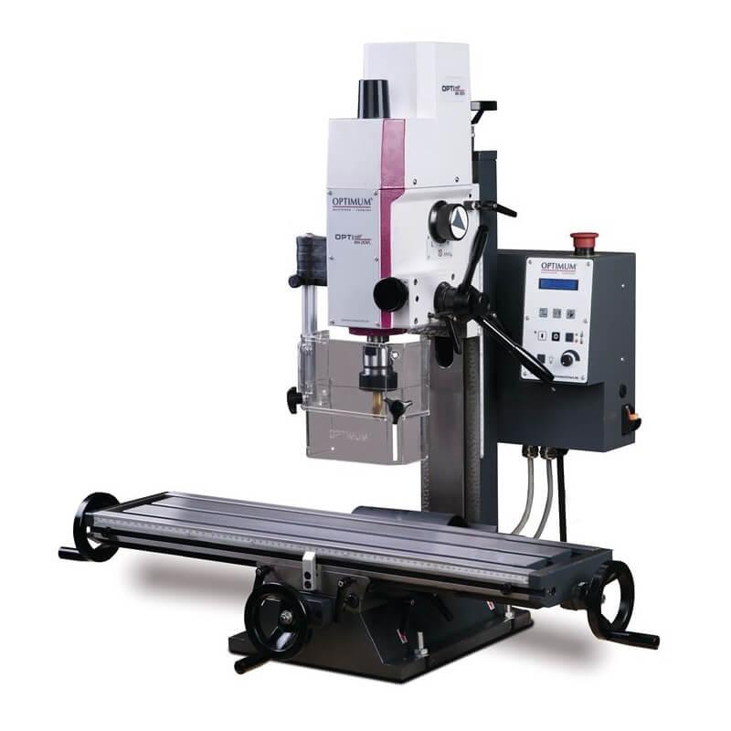 Fresadora con variador Optimum MH 20 VLD - Monofásica - Referencia 3338133