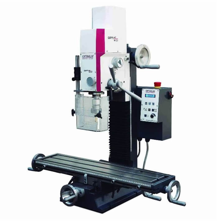 Fresadora con variador Optimum MH 22 V - Monofásica - Referencia 3338135