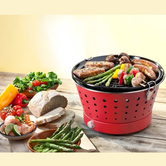 Barbacoa sin humo Grillerette Clássic Food&Fun - Personalizable 5 colores