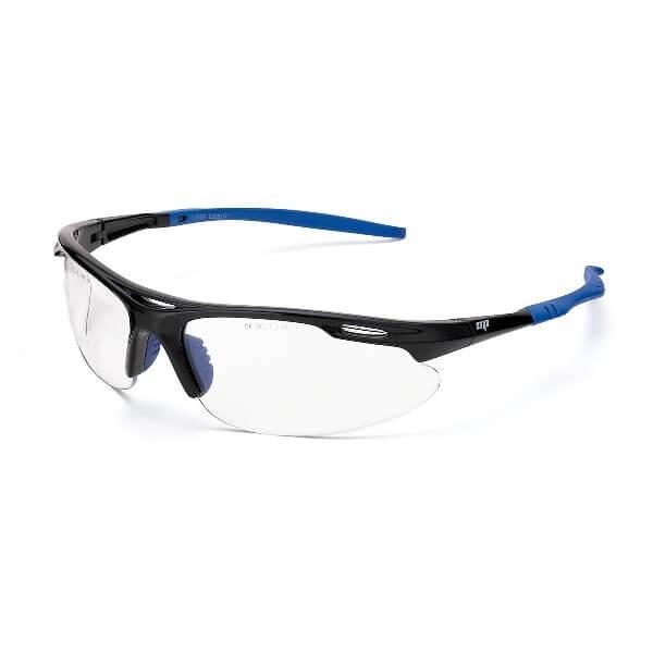 Gafas de ocular incoloro con patillas flexibles Mod. HELIO