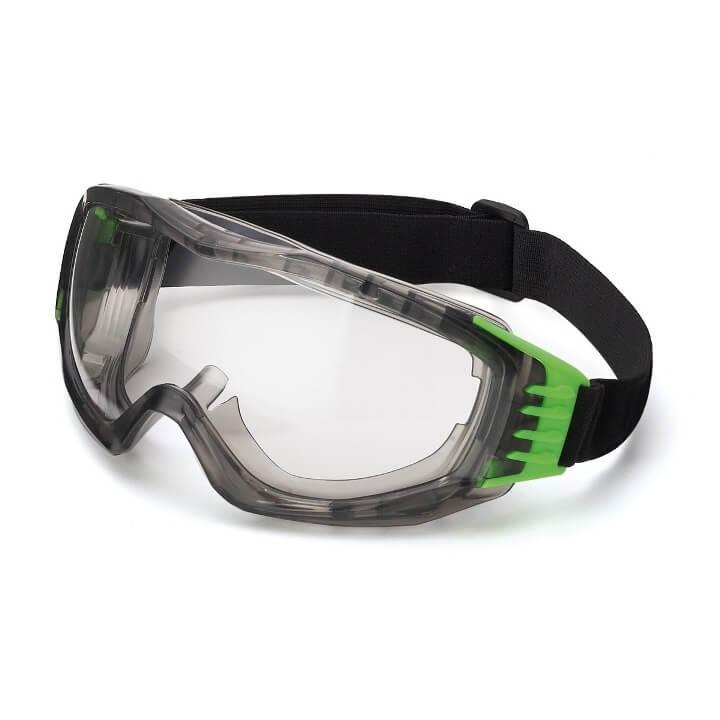 Gafas montura integral panorámicas 180º ocular incoloro Mod.