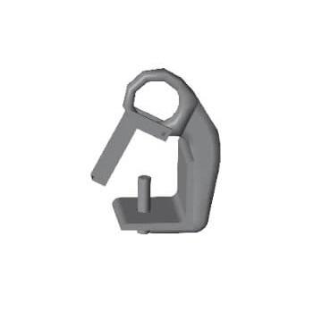 Gancho de Izado P. metálico serie PESADA Fermar