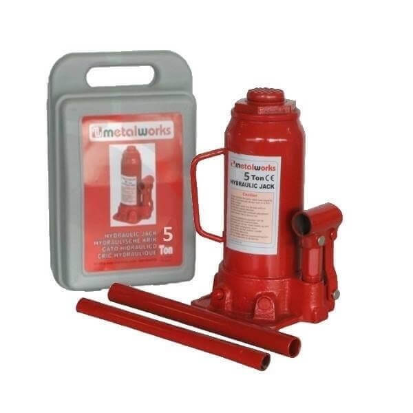 Gato de botella MetalWorks CATH12050 de 5 Toneladas - Referencia 754751205