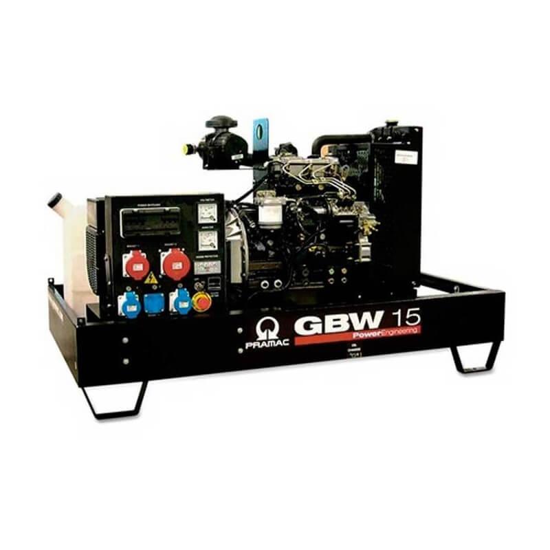 Pramac GBW 15 Y Diesel ACP - Grupo electrógeno versión abierta - Referencia SH130TYAK02