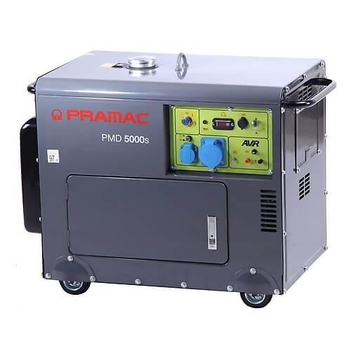 Generador eléctrico diésel Powermate Pramac PMD 5000S - 4200W Monofásico AVR