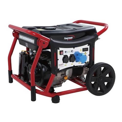 Generador eléctrico Powermate Pramac WX 5000 - 4200W Monofásico AVR