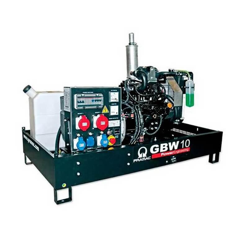 Pramac GBW 10 Y Diesel MCP - Grupo electrógeno versión abierta