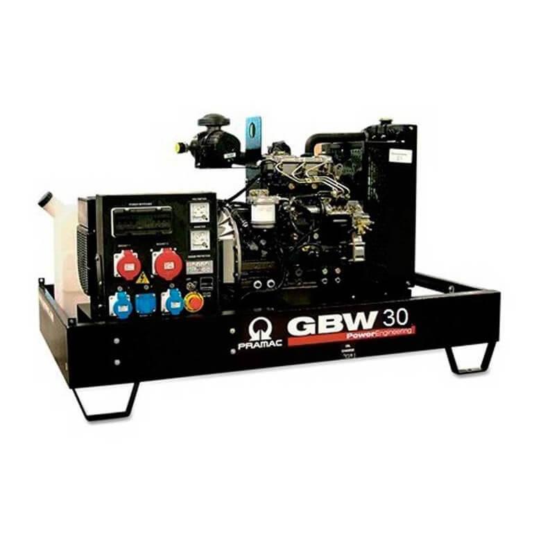 Pramac GBW 35 Y Diesel MCP - Grupo electrógeno versión abierta - Referencia SH260TYAQ00