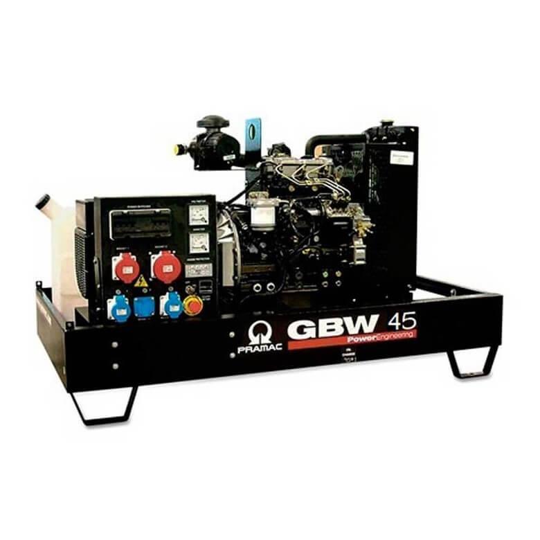 Pramac GBW 45 Y Diesel ACP - Grupo electrógeno versión abierta - Referencia SH450TYAI02