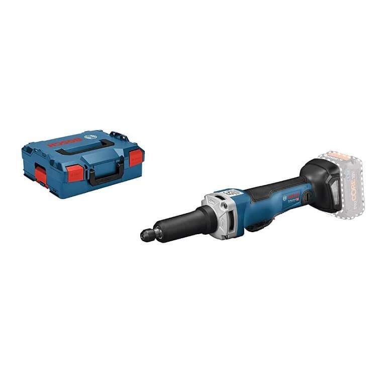 Bosch GGS 18V-23 PLC + L-BOXX - Amoladora recta a batería