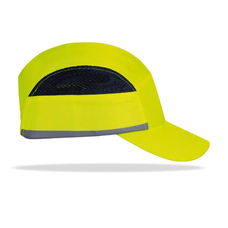 Gorra protectora Bumper PRO Alta visibilidad amarillo flúor 2088-GP PRO AVY
